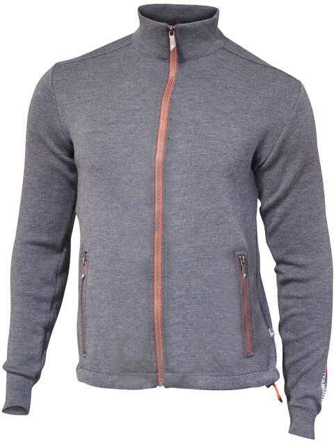 Ivanhoe of Sweden Assar Full Zip Jacket Men grey